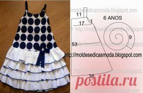 Шьем платья для маленьких модниц — Делаем Руками