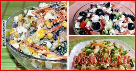 ТОП-3 вкусных салата без майонеза I.САЛАТ «ПРАЖСКИЙ»: на 4 порции В 100 Г — 140 Ккал Продукты: 300 г куриного филе 4 отварных яйца 1-2 свежих огурца (в зависимости от размера) Зеленый лук Небольшая морковь Заправка: 1 вареный желток 1 ч. л. зернистой горчицы 3-4 ст. л. оливкового масла Extra Virdgin Соль по вкусу Приготовление: Куриное филе и огурцы нарезаем …