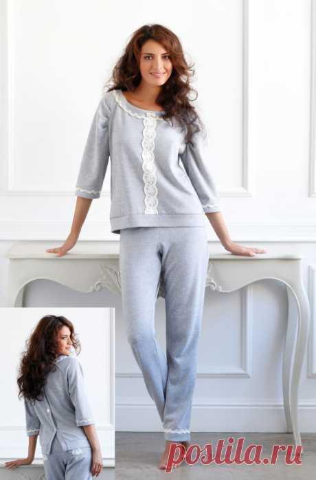 Модные женские пижамы: 100+ стильных фасонов для уютного отдыха
