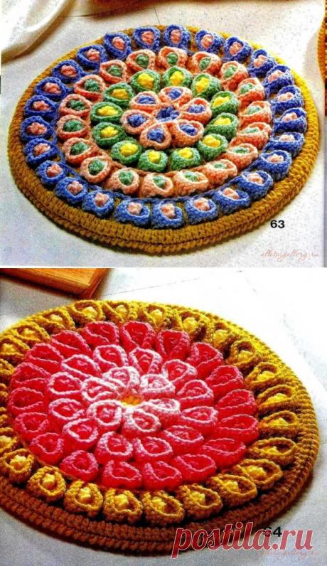 японские коврики, похожие на тртики...