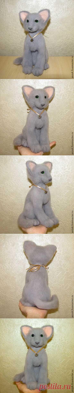 Мои валяшки. Котенок породы ориентал-ПРЕОБРАЖЕНИЕ!!!   РУКОДЕЛИЕ