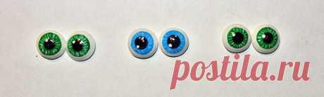 Глазки - Мордочка-глаза-волосы - Форум почитателей амигуруми (вязаной игрушки)