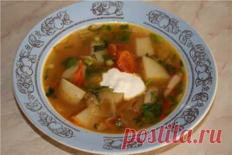 Суп крестьянский | Русская кухня