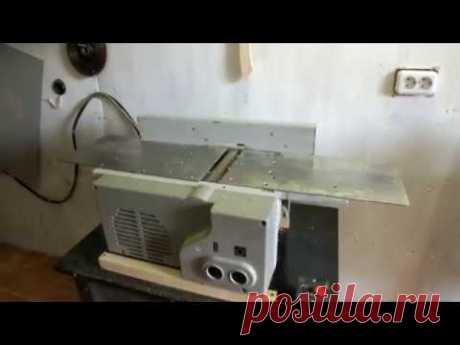 La modernización profunda de la máquina IE maderera 6009А