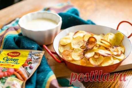 Картофельные чипсы - пошаговый рецепт с фото - как приготовить - ингредиенты, состав, время приготовления - Дети Mail.Ru
