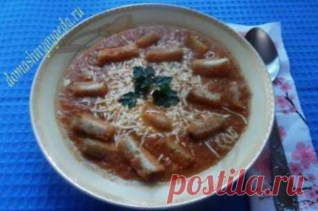 Суп-пюре из печеных овощей | Домашняя еда