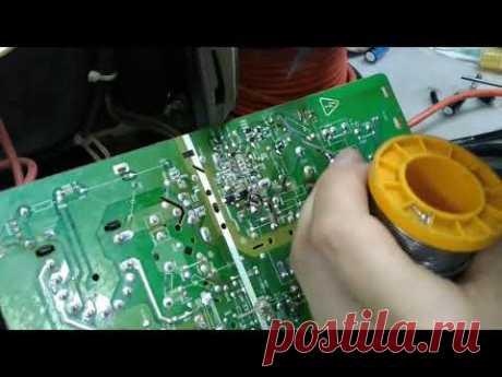 ремонт телевизора vestel vr3711ts (шасси 11AK36) после самостоятельного ковыряния