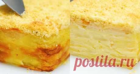 Тесто этого пирога при выпечке превращается в нежнейший крем. А готовится он очень просто ...
