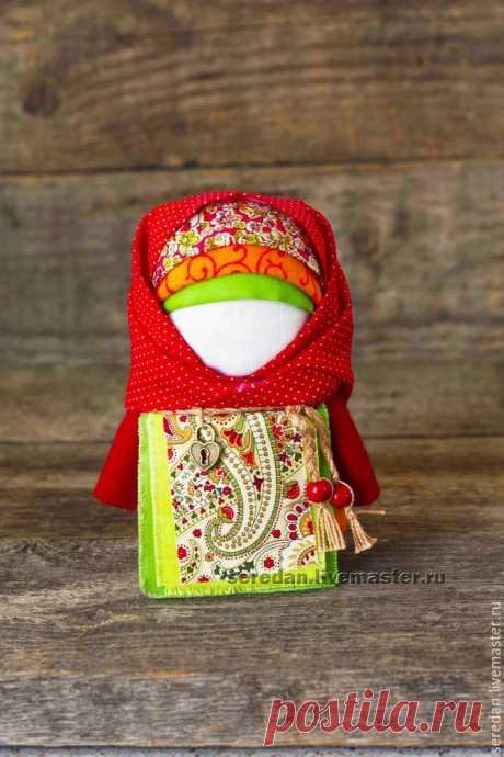Создаем народную куклу-оберег «Крупеничка» — Сделай сам, идеи для творчества - DIY Ideas
