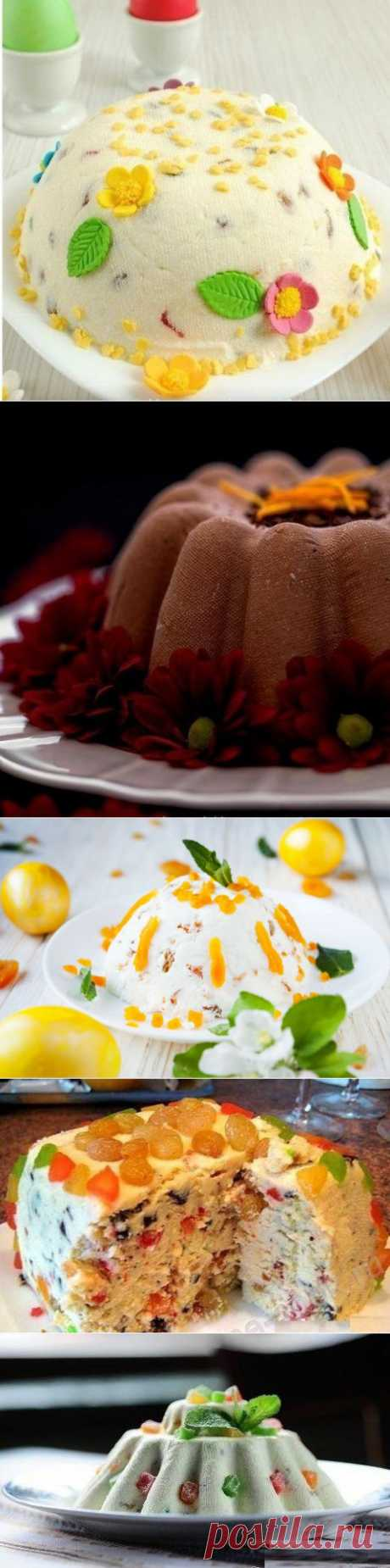 Five best recipes of cottage cheese Easter.