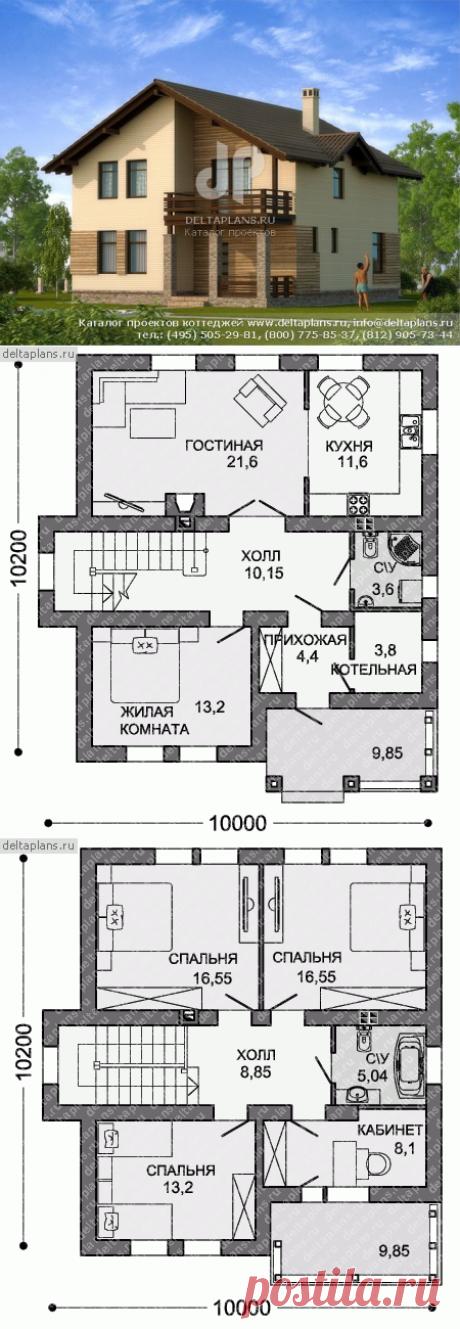 Загородный дом 150 м № X-150-1P