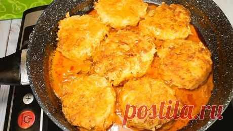 Вкуснейший ужин из простых ингредиентов! Получается очень вкусно и сытно!