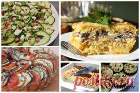 Output recipes from vegetable marrows and zucchini | the Recipe with the Photo | it is tasty, It is useful, it is easy | for Edalite.ru