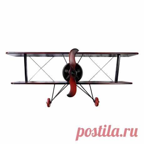 Air2 Черная книжная полка Самолет в стиле Прованс купитьУголок Прованса +7 (499) 390-04-39