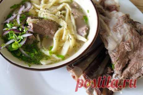 Традиционный бурятский суп с лапшой - Шулэн. И согреет, и насытит | Домашняя кухня | Яндекс Дзен