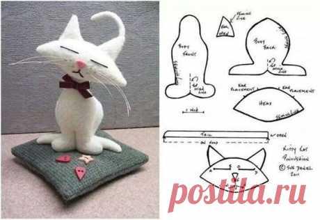 Текстильные игрушки с простейшими выкройками