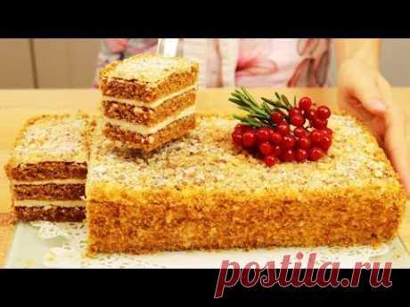 МОРКОВНЫЙ ТОРТ, простой рецепт потрясающего торта!