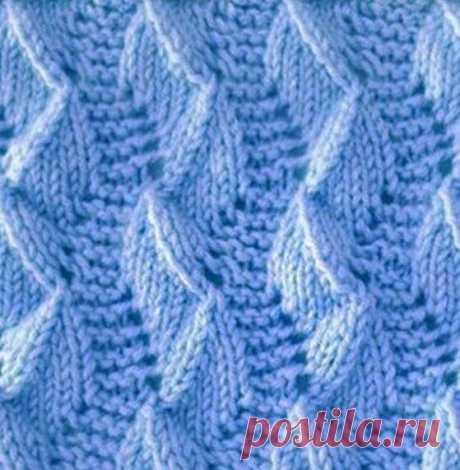 Вертикальный рельефный узор. Описание вязания в вашу копилочку   Вязание с Аленой Липницкой   Яндекс Дзен