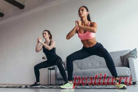 Эффективные упражнения для тренировки дома. Фитнес без оборудования. Видео - Чемпионат