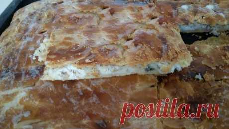 Рыбный пирог из свежей рыбы с рисом - Простые рецепты Овкусе.ру
