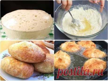 Потратьте 5 минут и приготовьте это дрожжевое тесто. Готовить из него можно пирожки с любой начинкой, булочки, беляши, сосиски в тесте, пироги, пиццу... Тесто можно хранить в холодильнике до трех суток (не перекисает), можно замораживать. Даже если вы готовите тесто впервые - у вас получится!