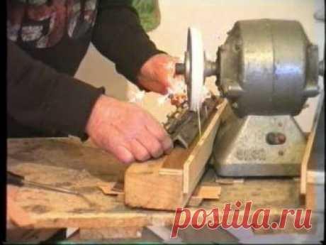 Заточка ножей для деревообрабатывающего станка, новинка, обучающее видео,