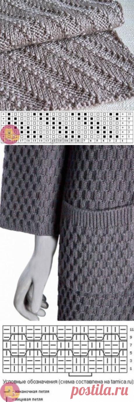 Плотные узоры для пальто и других зимних вещей — Сделай сам, идеи для творчества - DIY Ideas