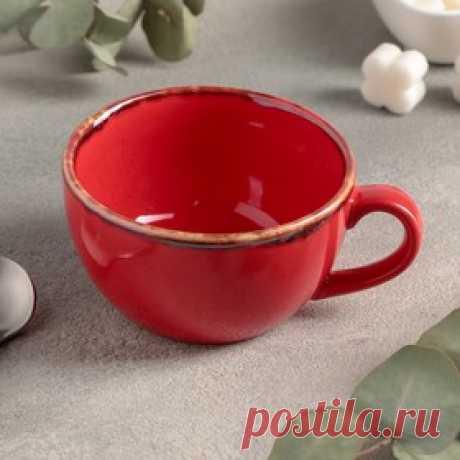 Чашка чайная 250 мл, цвет красный Цена: 426.00 руб. Закажите прямо сейчас!