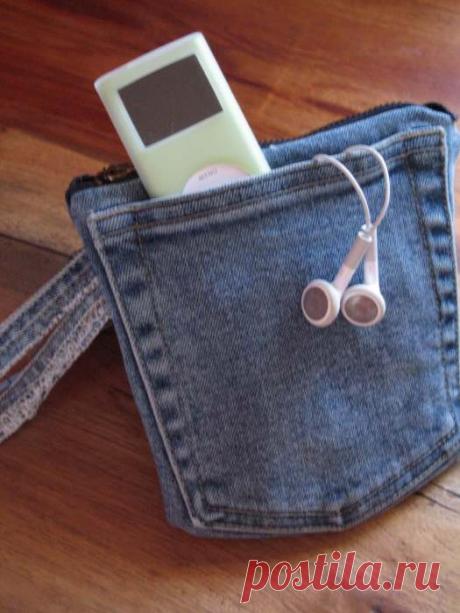 9 нужных в хозяйстве вещей, которые можно сделать из старых джинсов