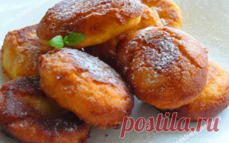 Пончики на кефире | Готовьте с нами