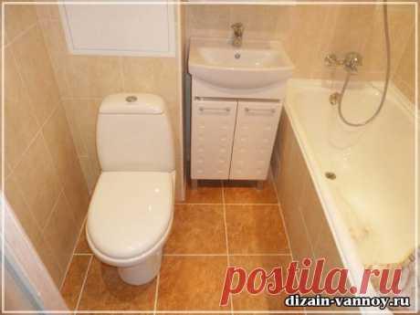 Как отремонтировать ванную комнату недорого, бюджетная отделка