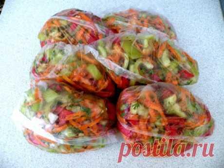 Замораживаем овощи и фрукты