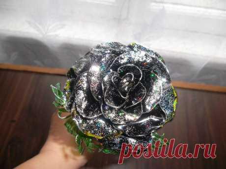 Великолепные розы своими руками из бросового материала - Домоводство - медиаплатформа МирТесен