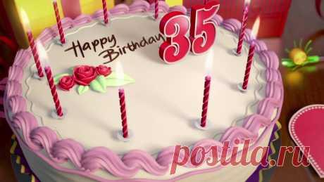 Оригинальный торт девушке на 35 лет с мастикой и кремом — 21 идея ⭐ Забавник