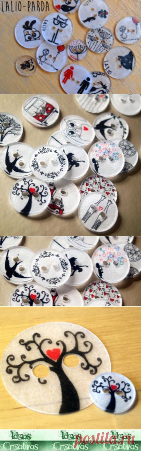 Ideas Creativas y Practicas: Botones de Plástico Mágico Casero