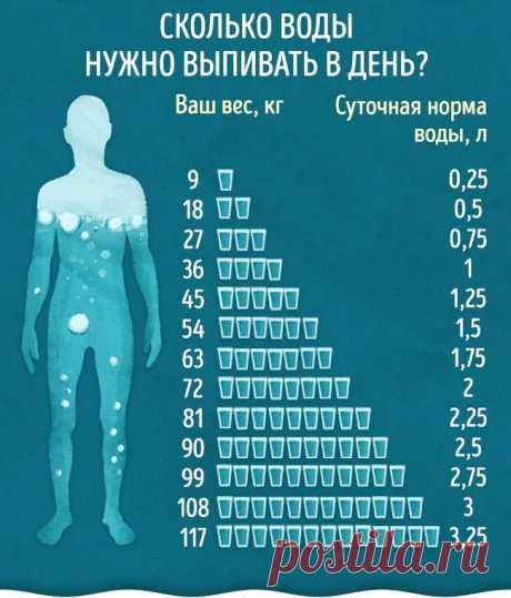 Верные признаки того, что вашему организму не хватает воды — Полезные советы