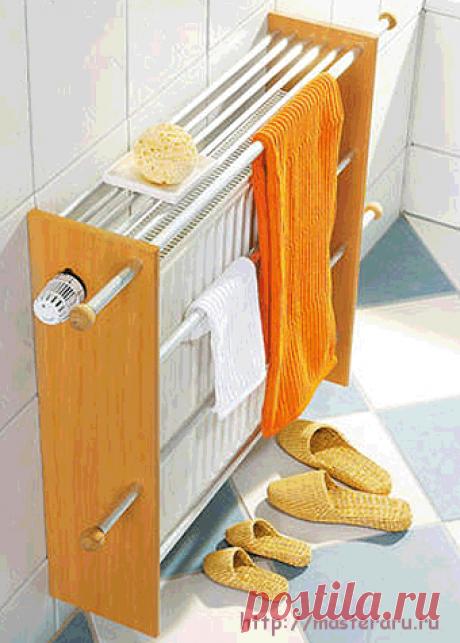 сушилкa для белья на радиаторе отопления