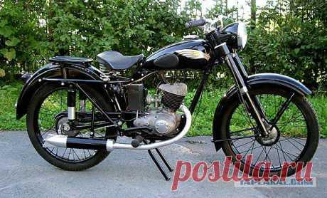 К-125 - лёгкий дорожный одноместный мотоцикл с двухтактным двигателем, производства завода им. Дегтярёва (ЗиД). Выпускался с 1946 по 1951 год...