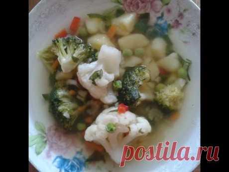 Овочевий суп – дієтичні рецепти для діабетиків 2 типу