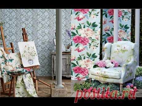 Оттенки весны 2021 в текстиле интерьера