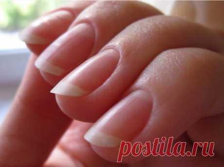Для крепких и белых ногтей — Полезные советы