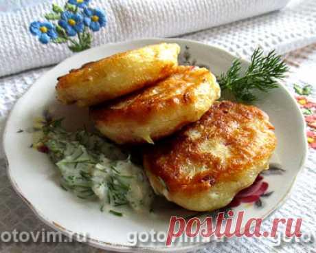 Дрожжевые оладьи с капустой и колбасой. Рецепт с фото / Готовим.РУ