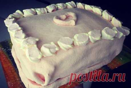 Мастика для покрытия торта из маршмеллоу рецепт – европейская кухня: выпечка и десерты. «Еда»