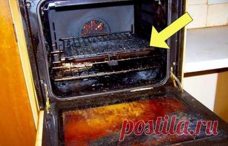 Бюджетный и ленивый способ почистить духовку, который точно никому не навредит — Лайфхаки