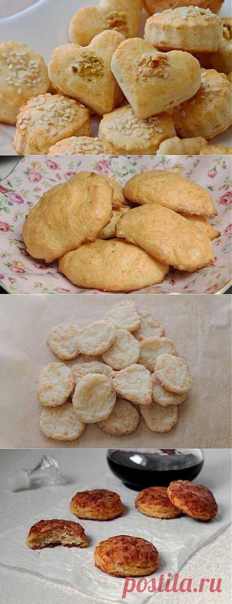 Сырное печенье: 5 рецептов.