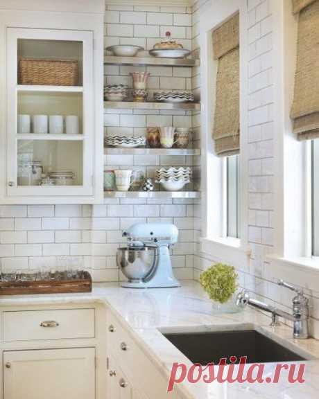 Полочки в кухне - Дизайн интерьеров | Идеи вашего дома | Lodgers