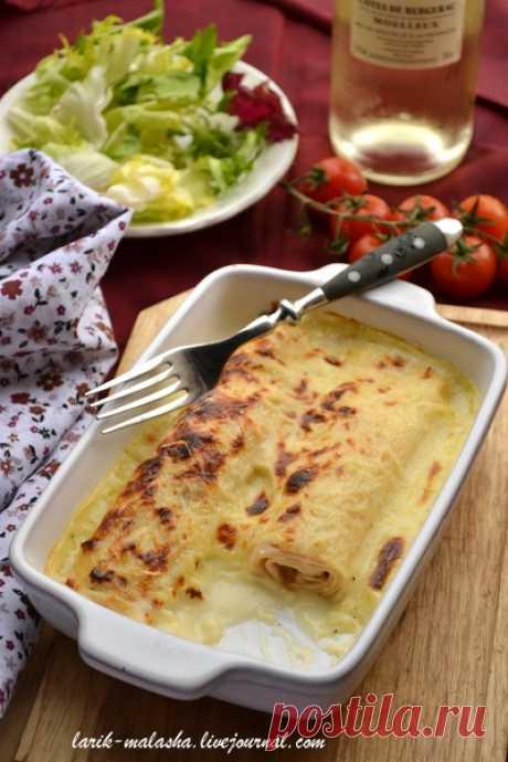 Французское блюдо… Блины по-пикардийски (Ficelle picarde) — Готовим дома