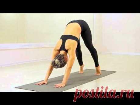 Йога для начинающих (полная версия) - YouTube