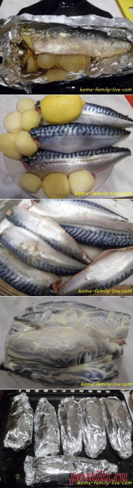 Фаршированная скумбрия - пошаговый рецепт с фотоКулинарные рецепты