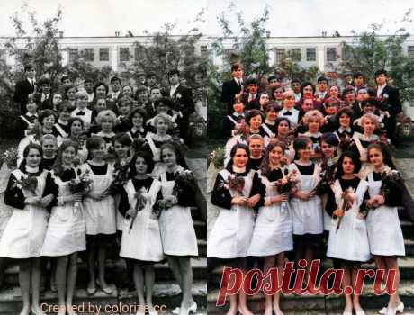 Оцифровка и реколор черно-белых фотографий своими руками.   Время Гаджетов   Яндекс Дзен